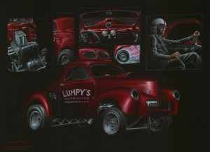 gasser collage poster small